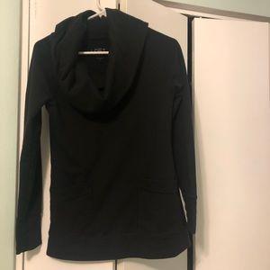 LOFT lounge cowl-neck tunic sweatshirt